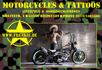Freakie Tattoo & Motorcycles